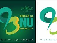 Resmi Diluncurkan, Ini Logo Harlah ke-93 NU