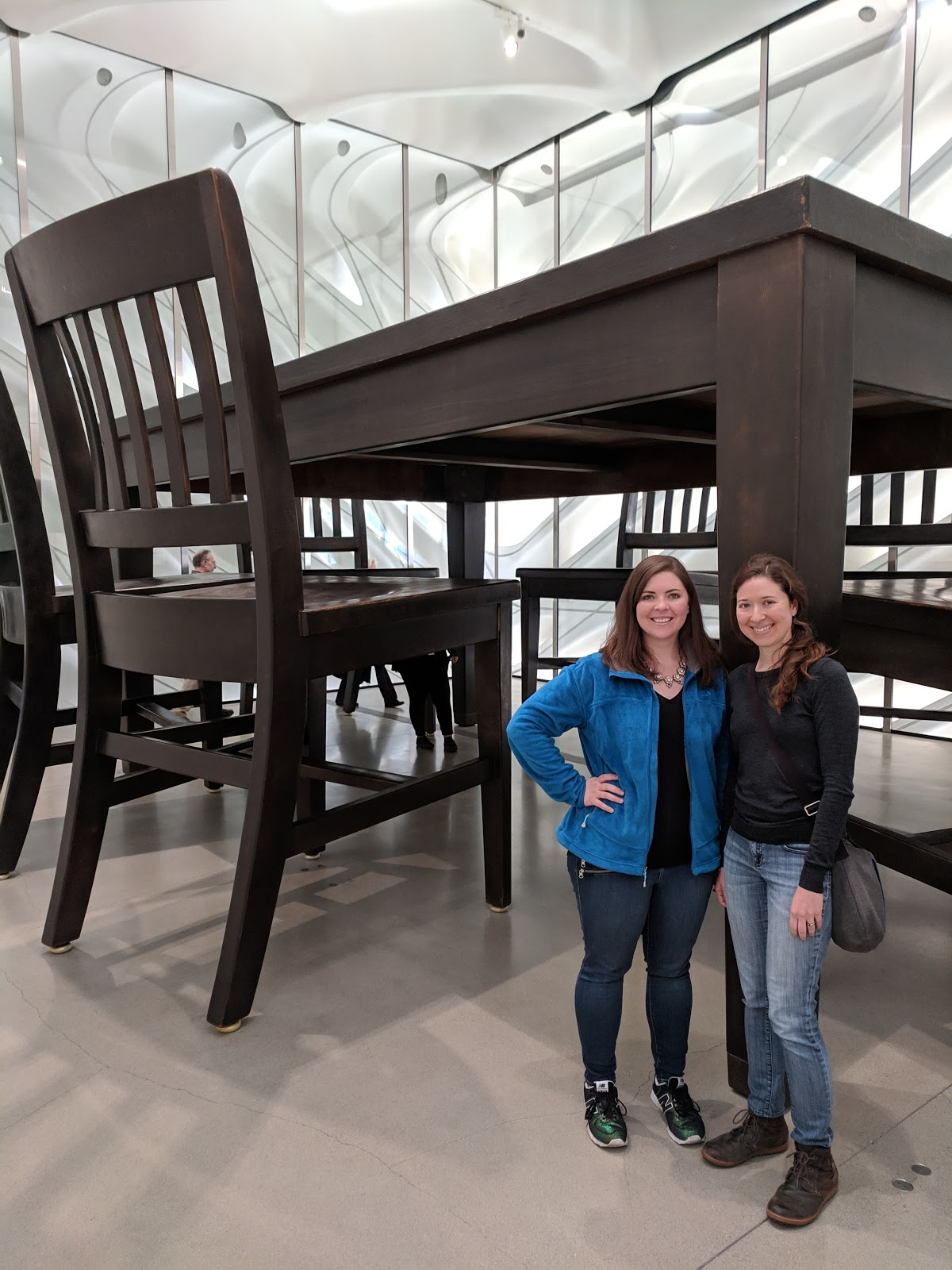 What is this, a table for… giant ants?