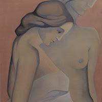 Esther Battle pintura figurativa desnudo