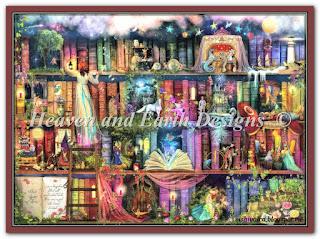 """HAED HAEAISLRG 49365 """"Large Treasure Hunt Bookshelf"""""""