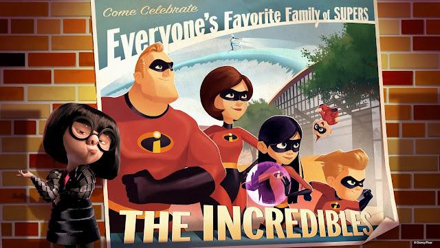 Incredibles at Disney Hollywood Studios Municiberg at Pixar Place