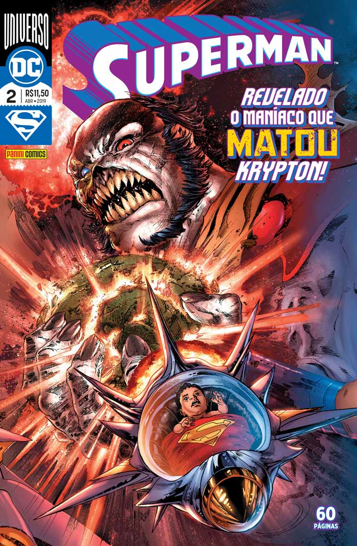 Checklist DC/Panini (Julho/2019 - pág.08) - Página 8 Superman_002_capa