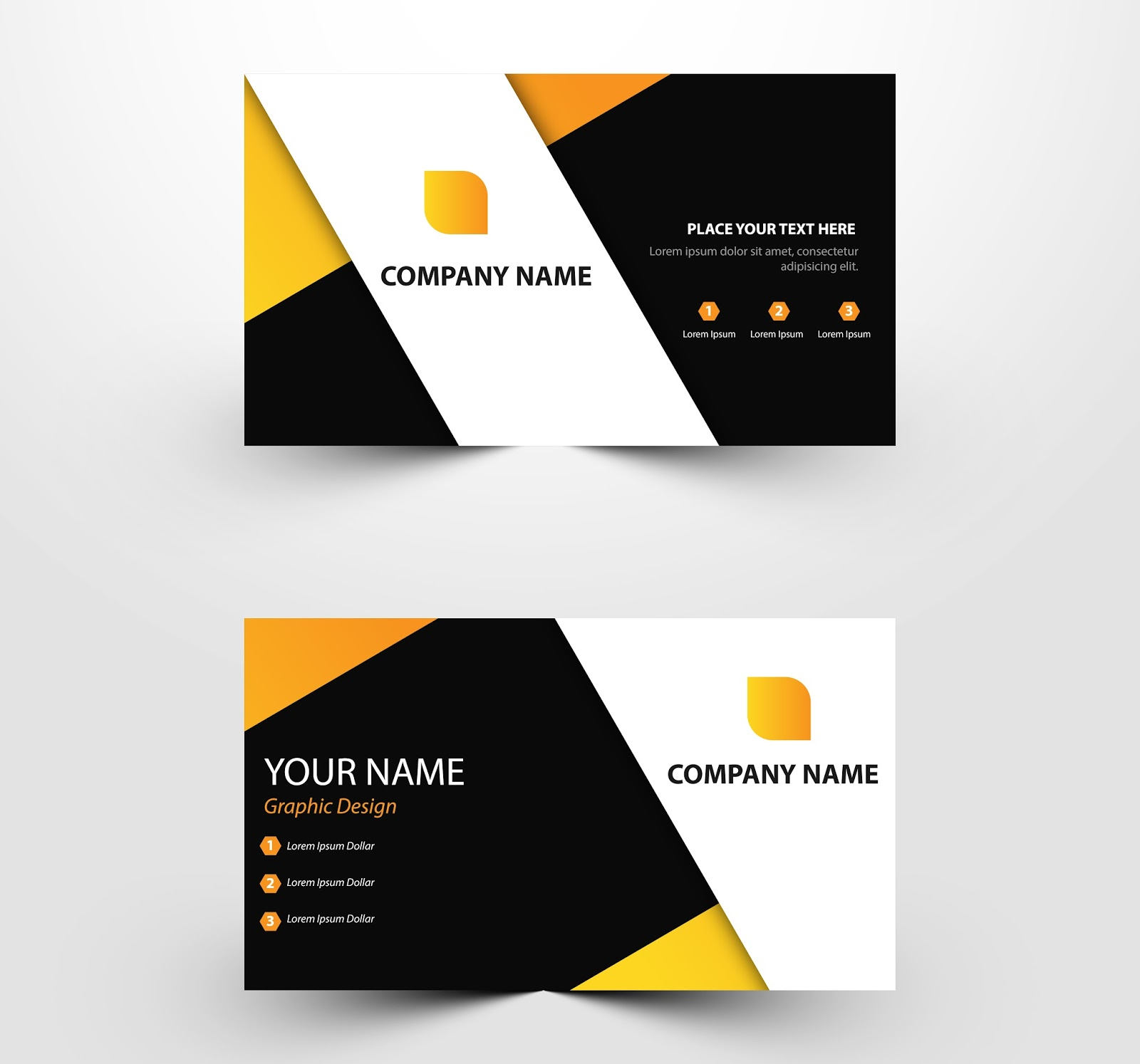 free download business card templates ai files  u0026 psd files