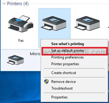 How to Make an Offline Printer Online in Windows 10 - Howali com