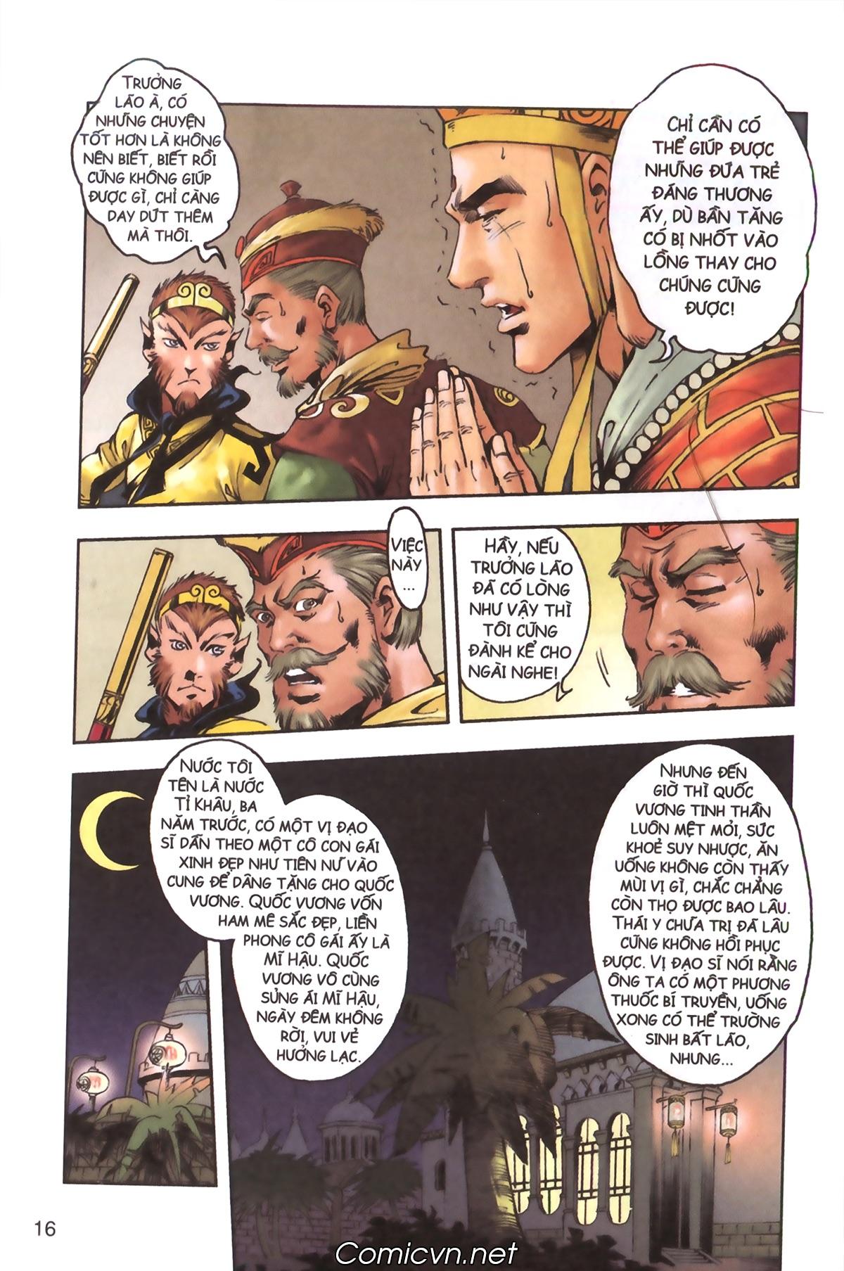 Tây Du Ký màu - Chapter 129 - Pic 14