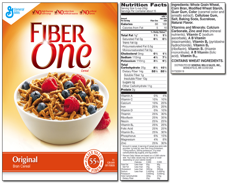 "Don't believe the ""whole grain"", high fiber cereal hype"