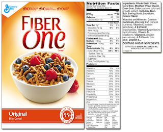 """Don't believe the """"whole grain"""", high fiber cereal hype"""