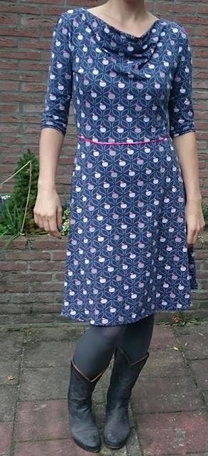 vigo swafing jurk appel