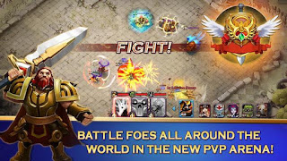 Free Download Clash Of Lords 2 V.1.0.200 APK Terbaru 2016