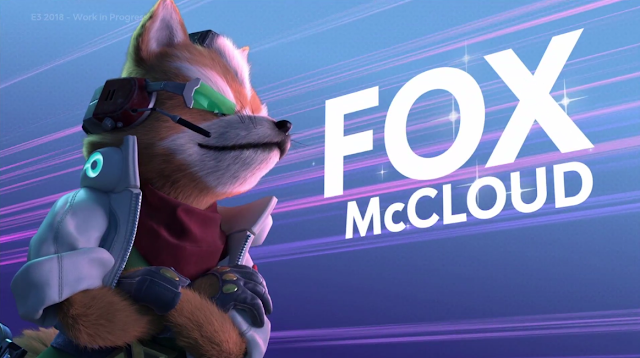 Starlink Battle for Atlas Fox McCloud splash screen activated
