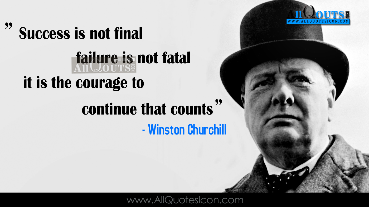 Winston Churchill Quotes in English Wallpapers Best ...