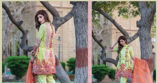 Sahil Lawn Collection 2017