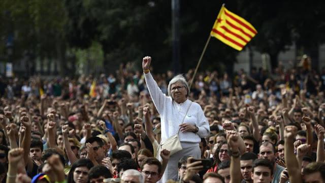 3-O: Comienzan paro general y protestas en Cataluña