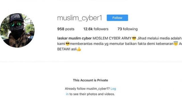 Admin akun muslim_cyber1 terancam hukuman 6 tahun penjara