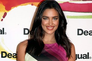 Irina Shayk at the launch of fashion brand in Spain