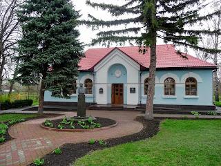 Великі Сорочинці. Вул. Гоголя. Літературно-меморіальний музей М. В. Гоголя