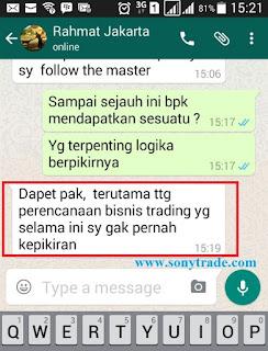 testimoni sony wijaya sonytrade belajar trading forex surabaya