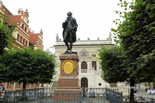 Goethe, Alte Handelsbörse, Leipzig, Alemania