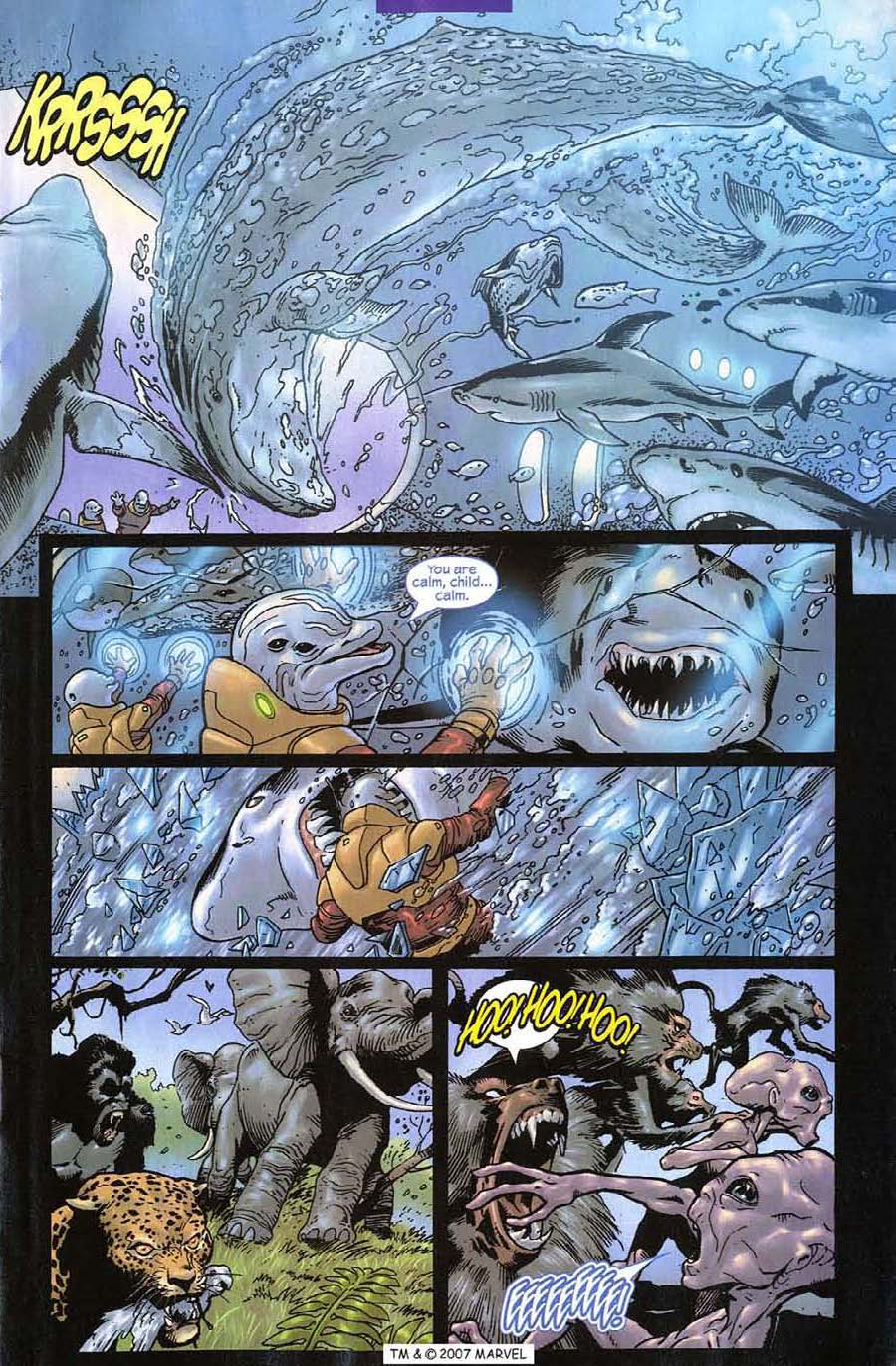 Read online Silver Surfer (2003) comic -  Issue #12 - 17