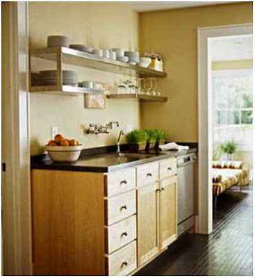menata dapur kontrakan