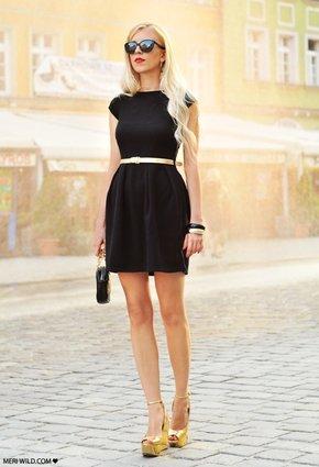 Accesorios Para Vestido Negro De Dia Vestidos De Punto 2019