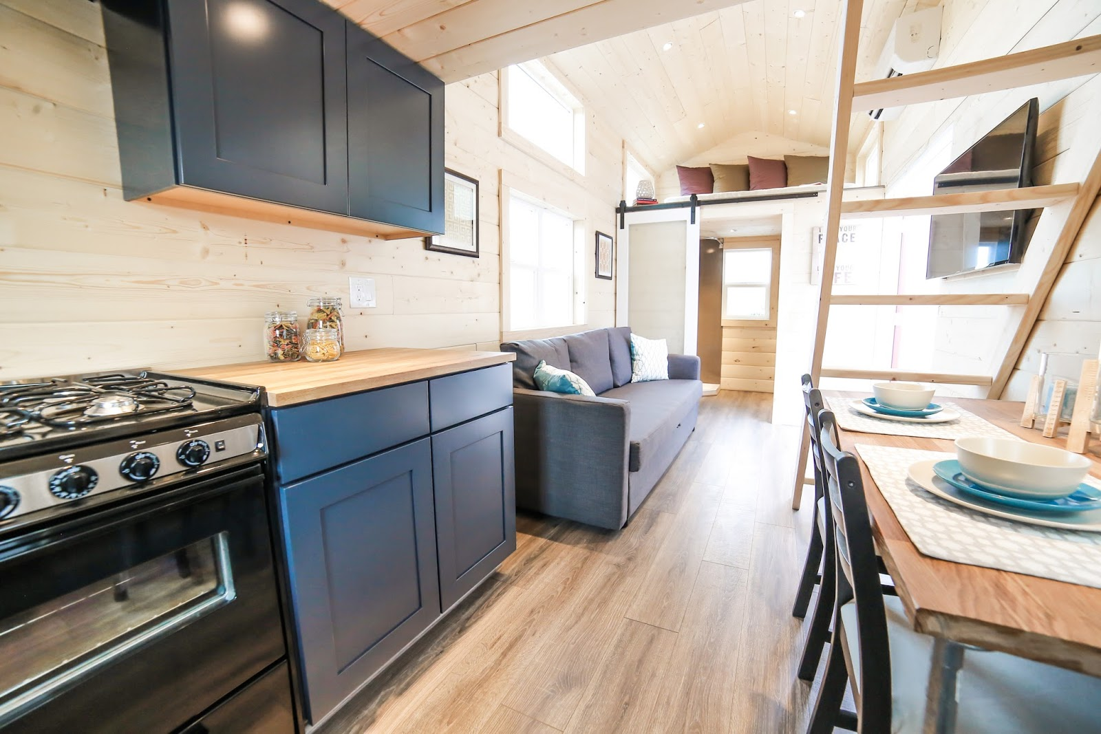 Mansion Tiny House By Unchartered Homes