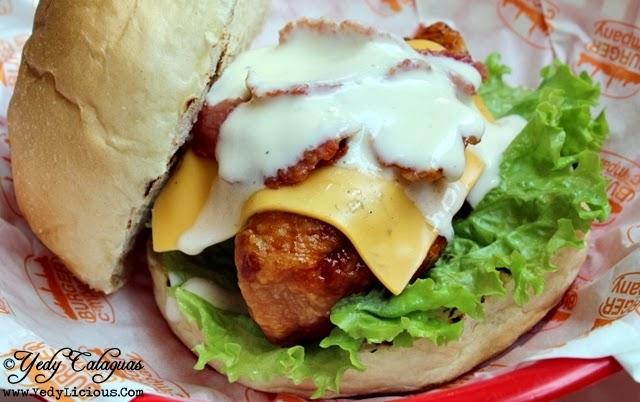 New York Buffalo Chicken Burger at Burger Company