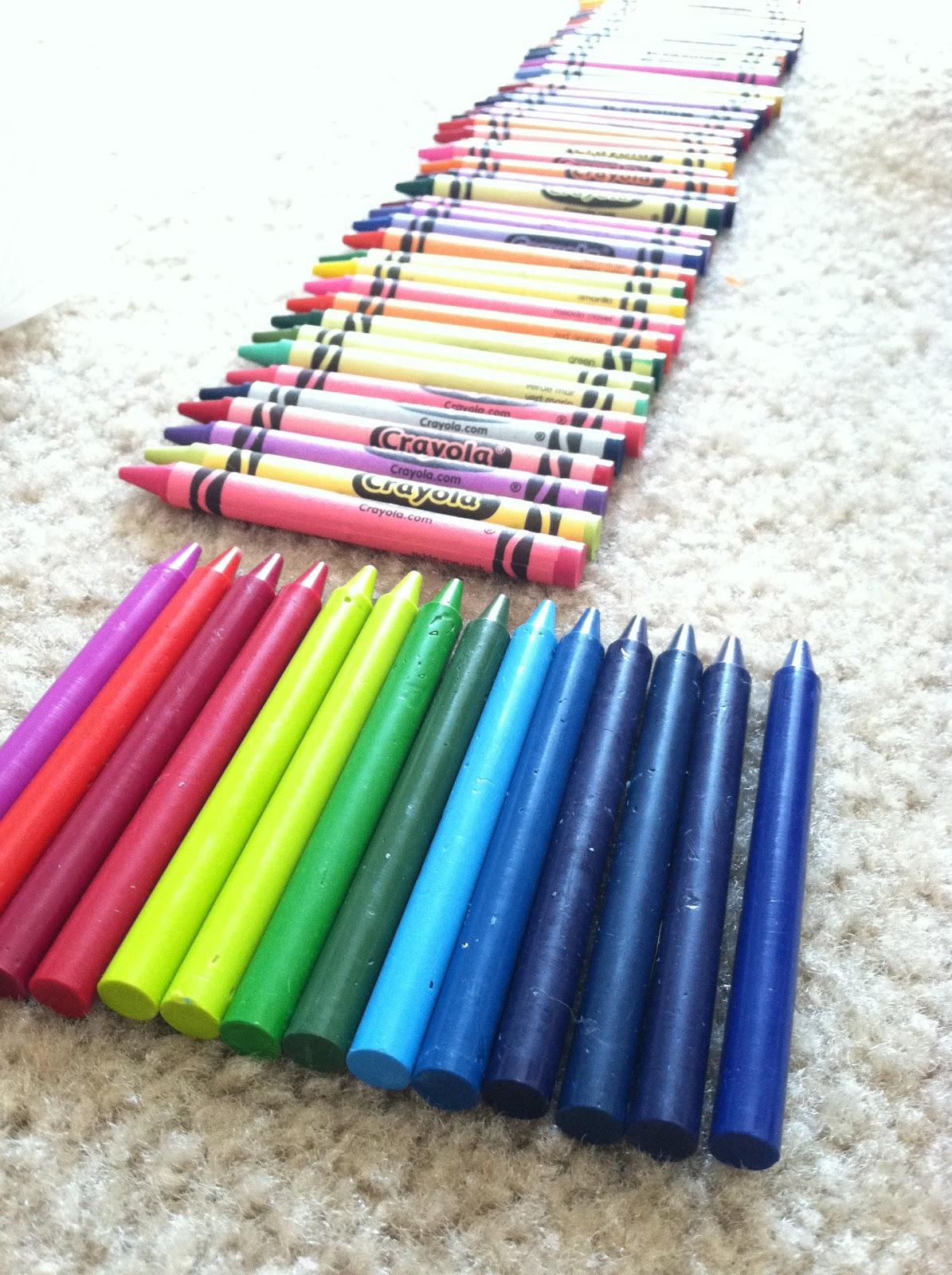 Apt. 723: DIY: Melted Crayon Art