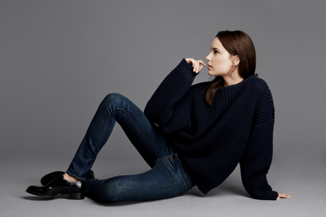 zady essentials collection sweater