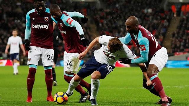 Tottenham Ditahan West Ham 1-1