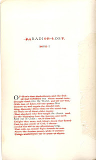 first page of Radi Os by Ronald Johnson