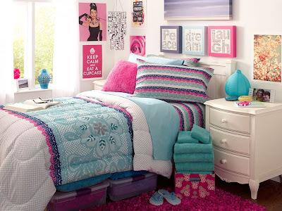 dekoras kamar tidur anak perempuan dan remaja