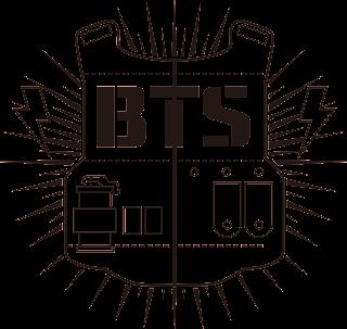 BTS(防彈少年團)(防弾少年団)旧ロゴ