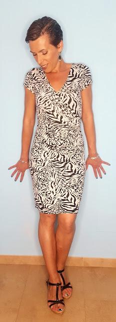 moda - print animal vestido