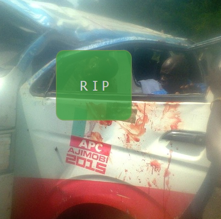 ajimobi campaign bus car accident