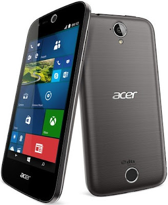 Acer Liquid M320 Specifications - LAUNCH Announced 2015, September DISPLAY Type IPS LCD capacitive touchscreen, 16M colors Size 4.5 inches (~61.7% screen-to-body ratio) Resolution 480 x 854 pixels (~218 ppi pixel density) Multitouch Yes BODY Dimensions 136 x 66.5 x 9.6 mm (5.35 x 2.62 x 0.38 in) Weight 142 g (5.01 oz) SIM Single SIM (Micro-SIM) or Dual SIM (Micro-SIM, dual stand-by) PLATFORM OS Microsoft Windows 10 CPU Quad-core 1.1 GHz Cortex-A7 Chipset Qualcomm MSM8909 Snapdragon 210 GPU Adreno 304 MEMORY Card slot microSD (dedicated slot) Internal 8 GB, 1 GB RAM CAMERA Primary 5 MP, autofocus, LED flash Secondary 2 MP Features Yes Video Yes NETWORK Technology GSM / HSPA 2G bands 2G bands GSM 850 / 900 / 1800 / 1900 - SIM 1 & SIM 2 (dual-SIM model only) 3G bands HSDPA Speed HSPA 42.2/5.76 Mbps GPRS Yes EDGE Yes COMMS WLAN Yes GPS Yes, with A-GPS USB microUSB v2.0 Radio FM radio Bluetooth v4.0, A2DP FEATURES Sensors Accelerometer, proximity Messaging SMS (threaded view), MMS, Email, Push Email, IM Browser HTML Java No SOUND Alert types Vibration; MP3, WAV ringtones Loudspeaker Yes 3.5mm jack Yes BATTERY  Removable Li-Ion 2000 mAh battery Stand-by  Talk time  Music play  MISC Colors Mystic Black, Pure White  - MP3/WAV/eAAC+/WMA player - MP4/H.264/WMV player - Document viewer - Video/photo editor