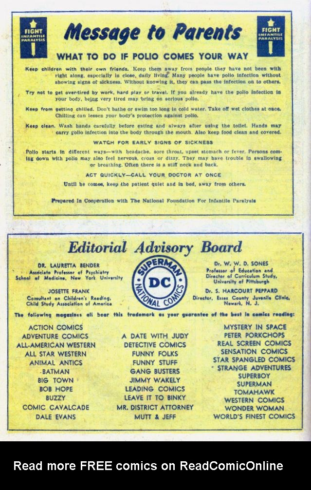 Read online Action Comics (1938) comic -  Issue #159 - 34