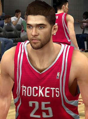 NBA 2K14 Chandler Parsons Cyberface Mod