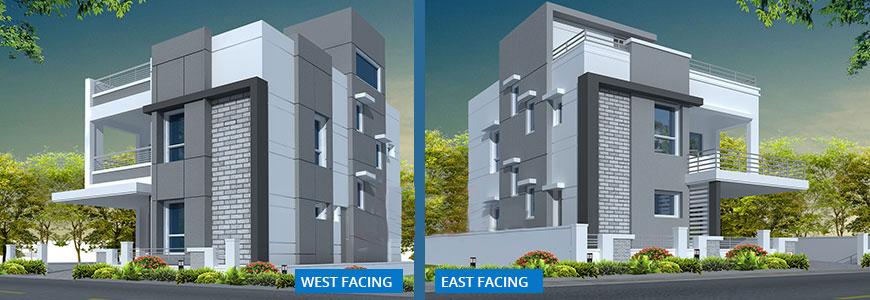 Duplex villas at gundlapochampally for Duplex project homes