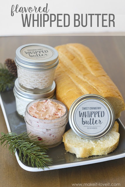 Flavored Whipped Butter by Makeit-Loveit