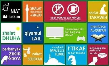 10 Panduan Amalan Puasa Ramadhan