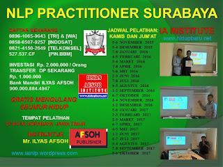 Jadwal Pelatihan NLP Surabaya 2016/2017