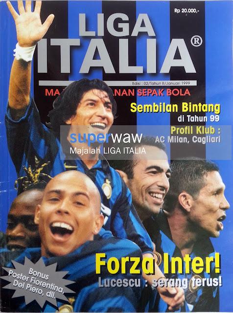 Majalah Liga Italia (Forza Inter!)