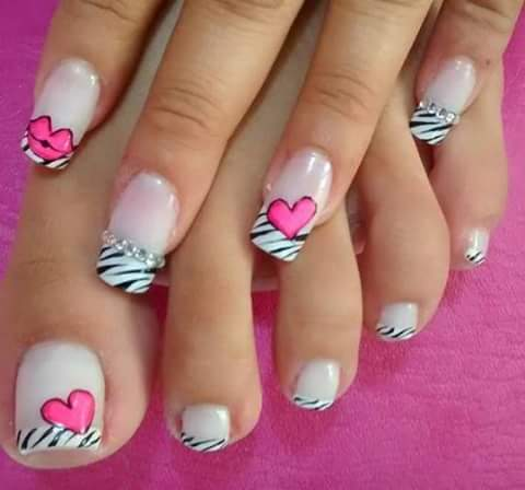 Dise os de u as bonitas para u as acrilicas gel for Decoracion de unas de rosas