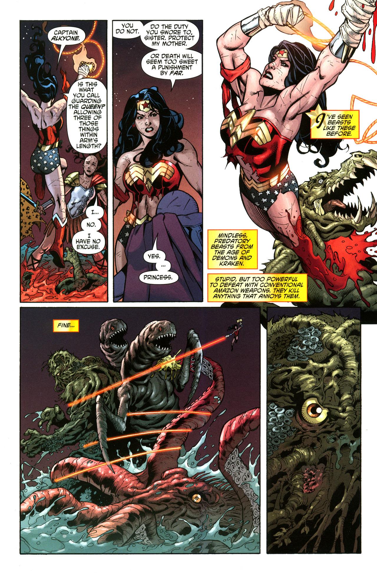 Read online Wonder Woman (2006) comic -  Issue #33 - 14