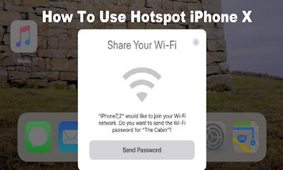 iPhone X Hotspot iOS 11