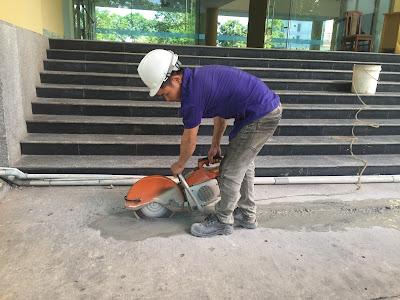 Khoan cắt bê tông tại phường  Hiệp Thành