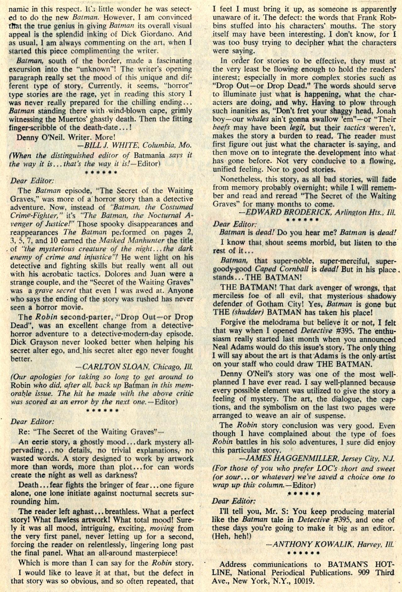 Detective Comics (1937) 399 Page 32
