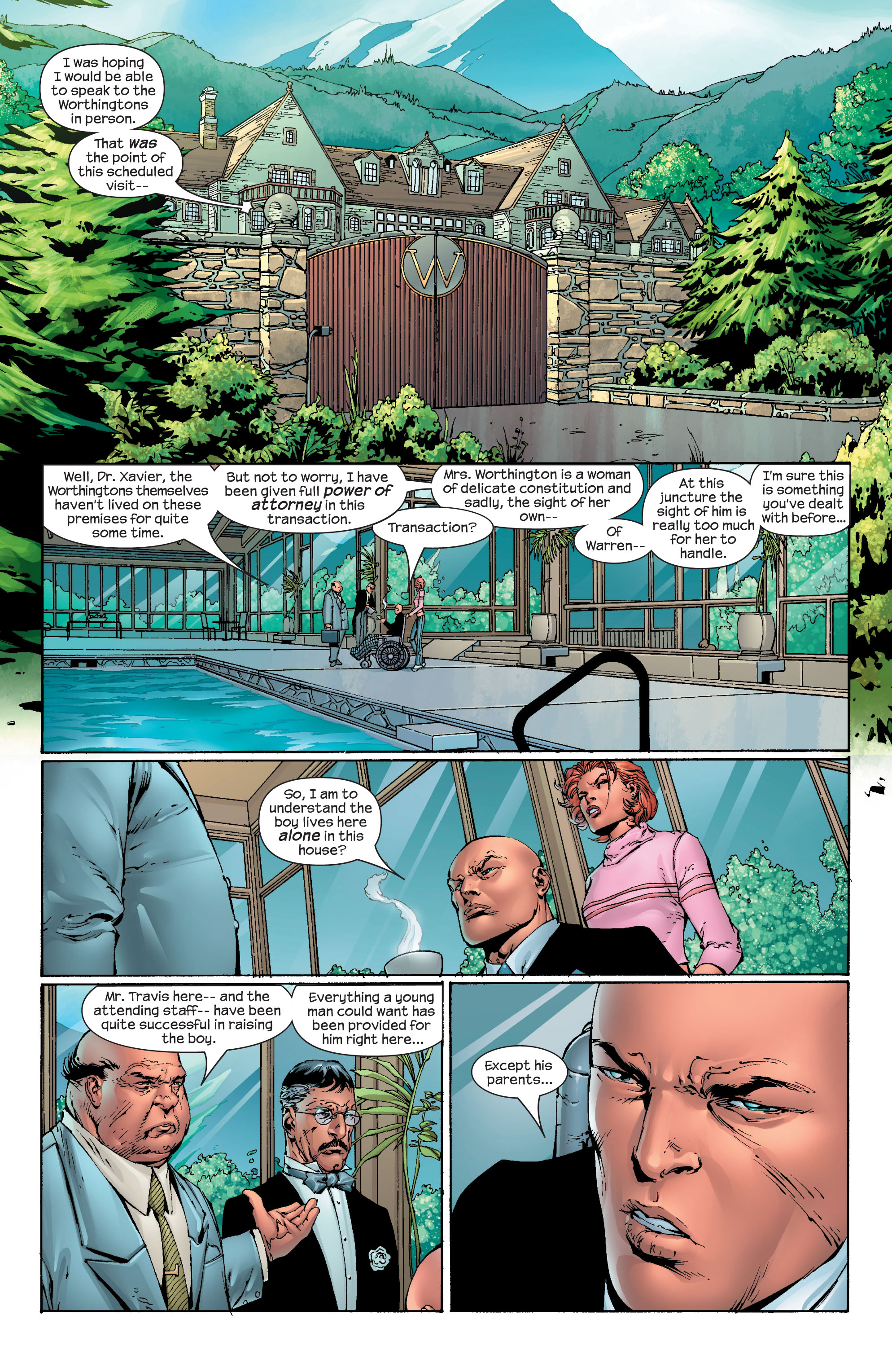 Read online Ultimate X-Men comic -  Issue #40 - 2