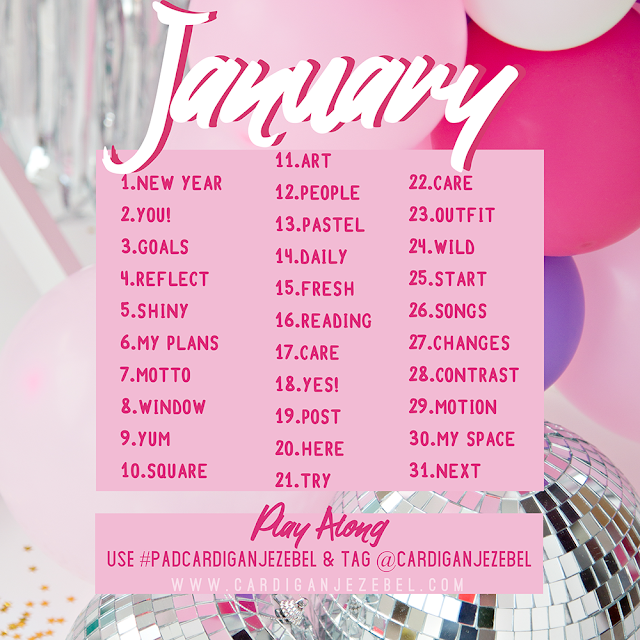January photo a day photography challenge
